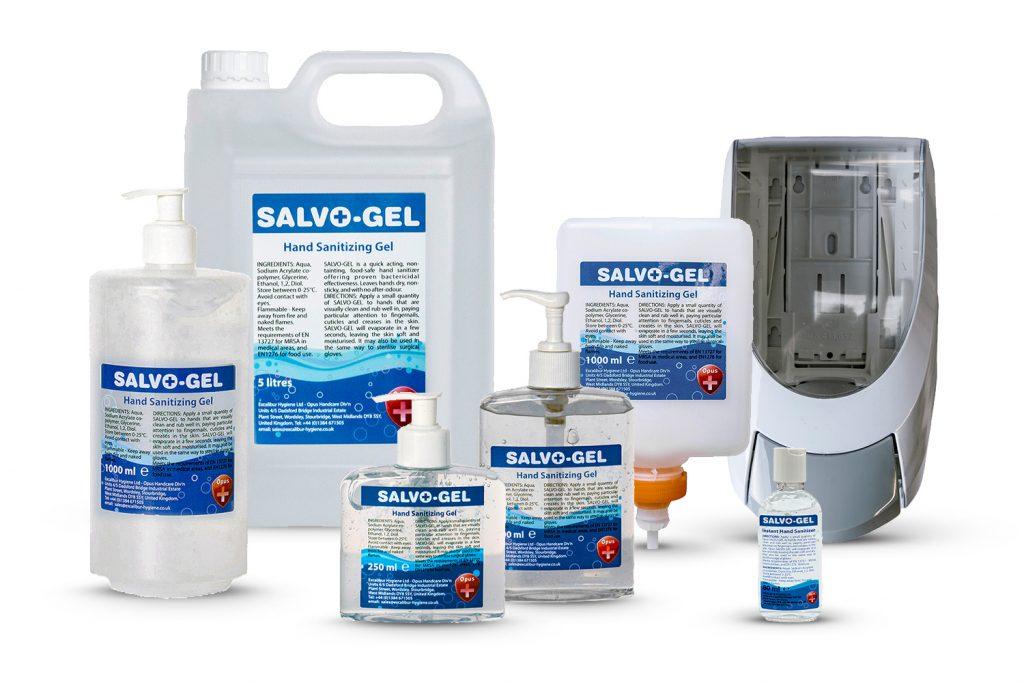 Opus Salvo-Gel Hand Sanitizer
