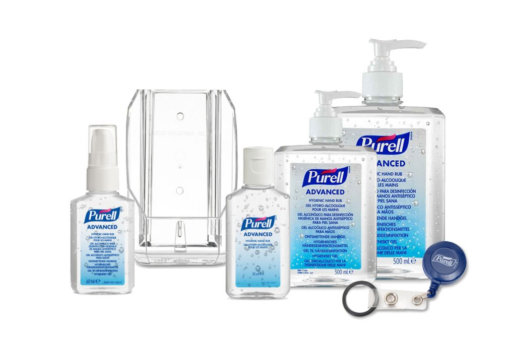 PURELL Free-Standing Bottles