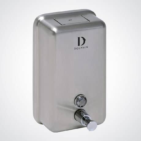 Dolphin 1200ml STAINLESS STEEL Bulk Fill Dispenser