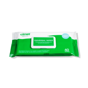 Clinell Universal Sanitizing Wipes - 40 wipes per sachet ref CW40X24