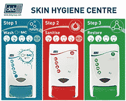 Deb Stoko OxyBAC 3-Step Skin Protection Centre
