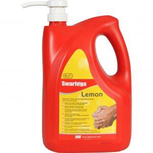 Deb Swarfega Lemon 4 litre free-stannding bottle