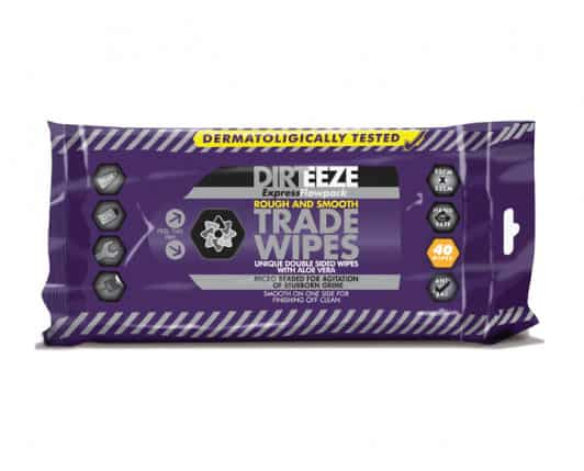 Dirteeze Rough and Smooth Wet Wipes - Flow Pack