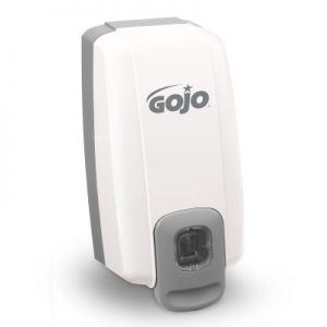 Gojo NXT 1 litre push dispenser in white ref 2139