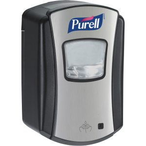 PURELL LTX-7 700ml automatic dispenser black and chrome ref 1328