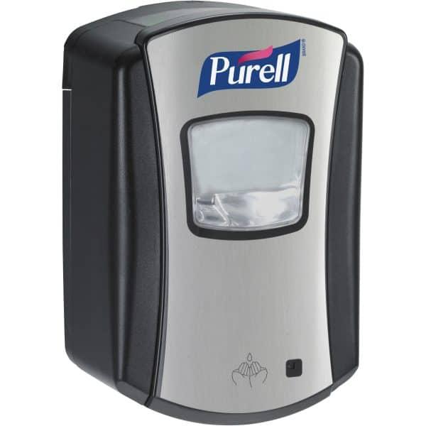 PURELL LTX-7 700ml automatic dispenser black and chrome ref 1328