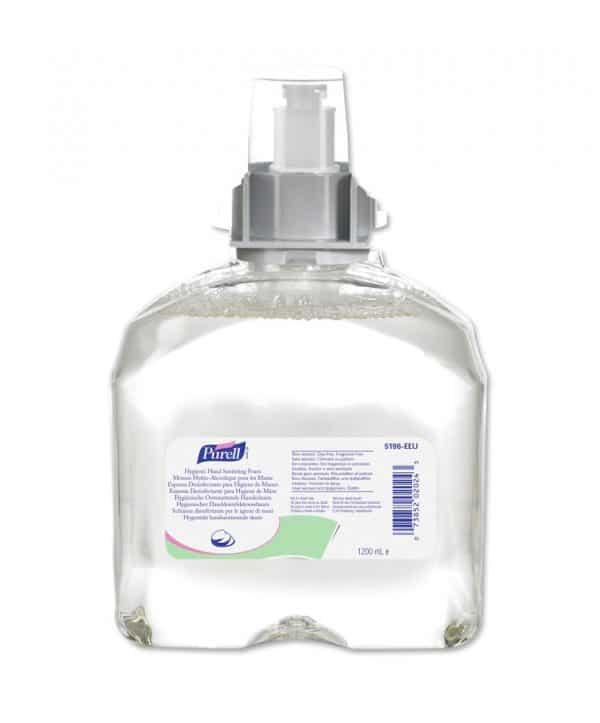 Purell Advanced Hygienic Hand Sanitising Foam ref 5396-04 for TFX