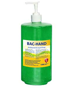 Opus Bac-Hand 2 litre free-standing pump bottle