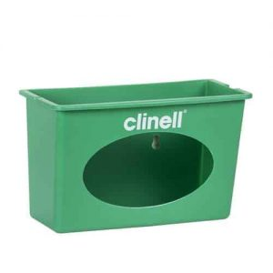 A Tough, wall-mountable dispenser for Clinell EXTRA LARGE wipes