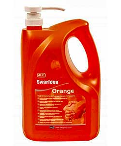 Deb SWARFEGA Orange 4 litre free standing pump bottle