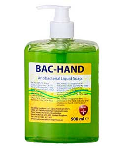 Opus Bac-Hand 500ml free-standing pump bottle