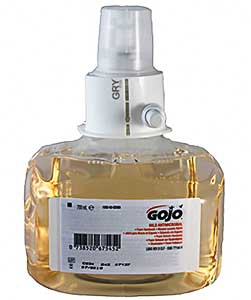 Gojo LTX 700ml Antimicrobial Foam Hand Wash ref 1352-03
