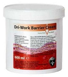 Opus Dri-Work Barrier Cream 600ml pot