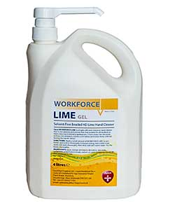 Opus Workforce Lime 4 litre pump bottle