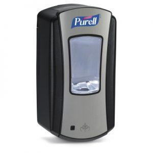 PURELL LTX-12 Touch-Free Dispenser in CHROME/BLACK ref 1928