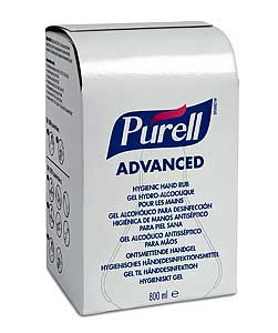 Purell Advanced 800ml refill 9657-12 for Accent dispenser