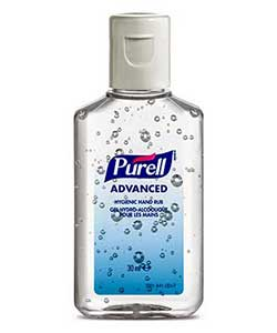 Purell Advanced gel 30ml personal bottle