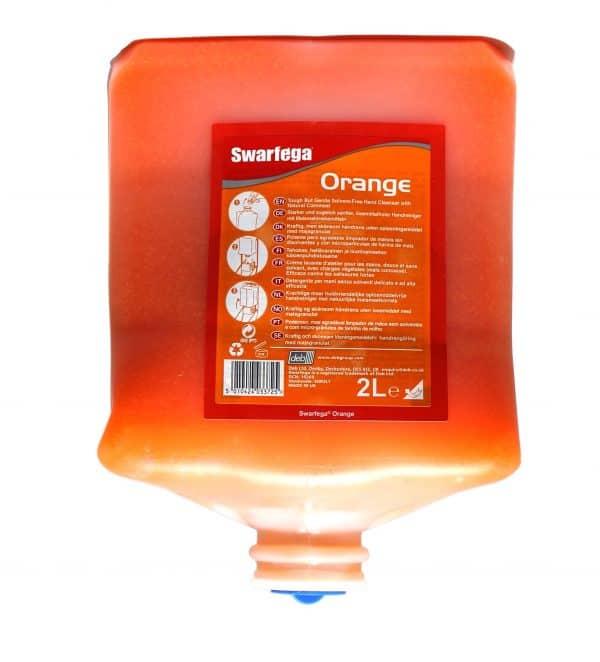 Deb Swarfega Orange 2 litre refill cartridge ref SOR2LT