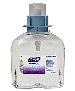 Purell Advanced foam 1200 ml refill 5196-03 for FMX dispenser