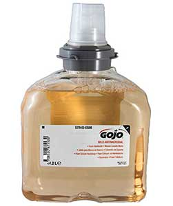 Gojo Antimicrobial Foam Hand Wash ref 5378-02 for TFX automatic dispenser