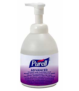 PURELL Advanced foam 535ml pump bottle ref 5796-04
