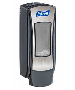Purell ADX 12 dispenser chrome and black ref 8828