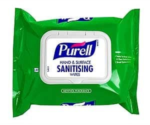 PURELL Hand & Surface Sanitizing Wipes - pack of 40 wipes