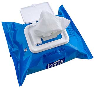 Purell Skin Cleansing Wipes pack of 100 wipes ref 93002