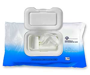 Purell Body Cleansing Wipes Case flow-pack of 70 wipes