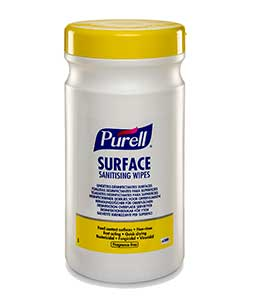 PURELL Surface Sanitizing Wipes - 6 Canisters x 200 wipes