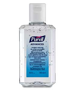 PURELL Advanced Hygienic Hand Rub 100ml personal bottle