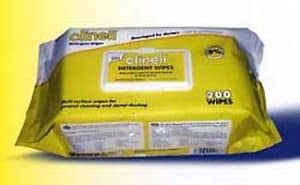 Clinell Detergent Wipes - 215 wipes per pack ref CDW215X6