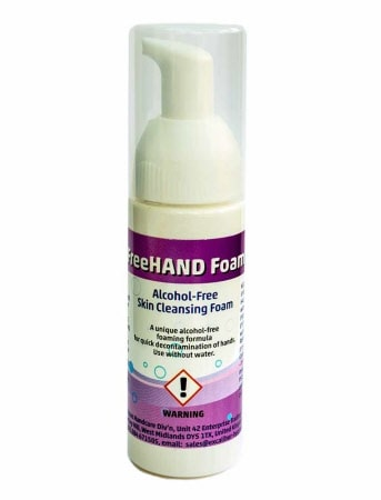 Opus FreeHAND Foam 50ml personal pump bottle