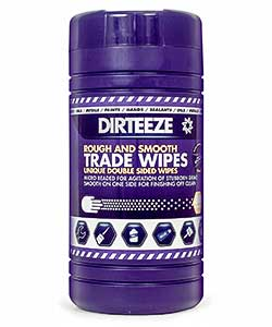 Dirteeze Rough and Smooth Wet Wipes - 80 wipe tub