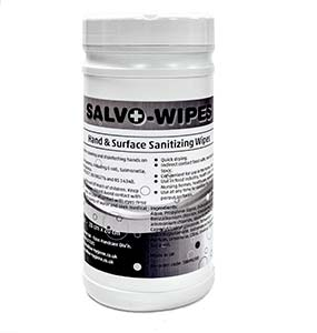 Opus Salvo-Wipes 200 per canister